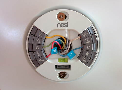 What Is Thermostat C Wire And What Color Is It Usually ... Nest Thermostat Wiring Jumper on